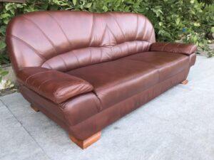 Кожаный диван ( Раскл)