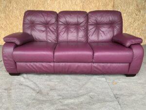 Кожаный диван (раскл)