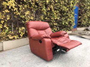 Кожаное кресло , реклайнер!