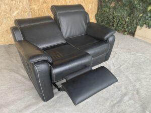 Кожаный диван (реклайнер)