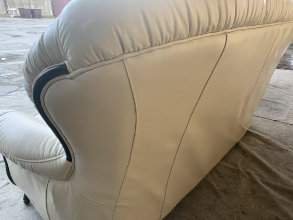 Кожаный гарнитур ( реклайнер кресло)