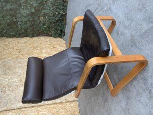 Кожаное Кресло качалка!