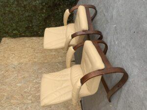 Кожаные кресла качалки с Германии!