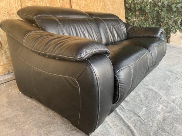Кожаный диван  ( сенсор)Бронь