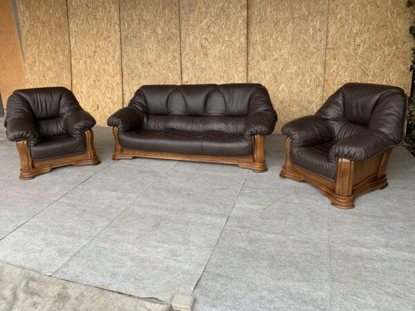 Диваны с Германии + кресло натуральная  кожа .заказан!