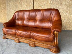 Кожаный диван (раскладной)заказан