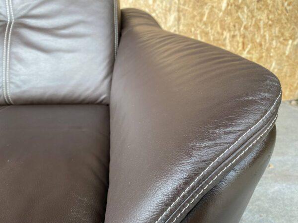 Кожаный уголок (раскладной)