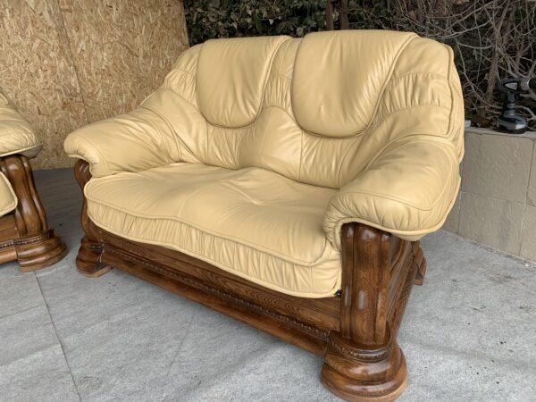 Кожаная мебель ( раскладная)