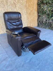 Кресло кожаное (Релакс)