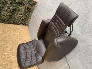 Кожаное кресло, реклайнер !