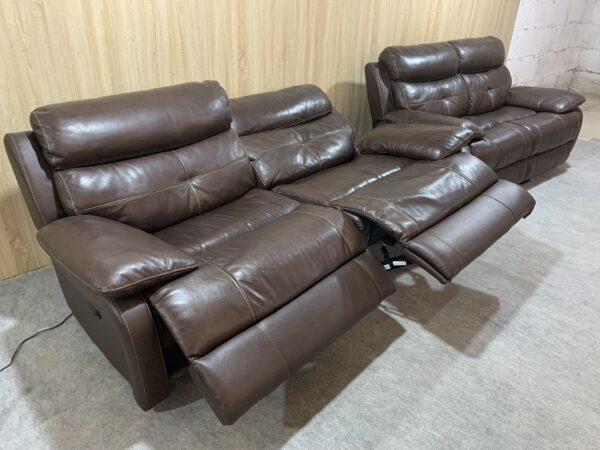 Кожаная мебель Электро Реклайнер !