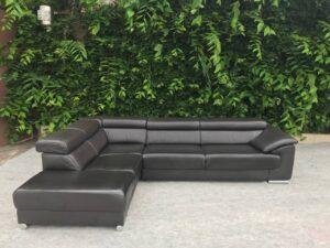 Кожаный диван ( электро раскладной)