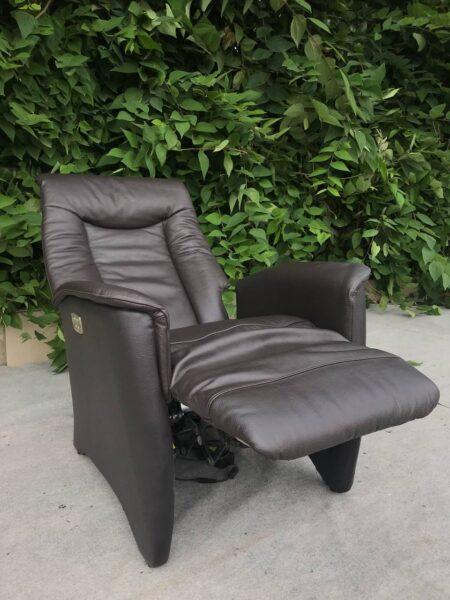 Кожаное кресло Электро Реклайнер !