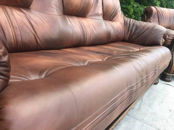 Кожаная мебель диван два кресла (заказан )