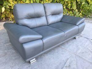 Кожаный диван , двоечка.
